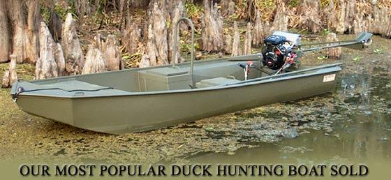 16 X 44 Go Devil Duck Hunting Boat