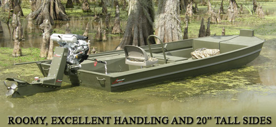 16 X 54 Go Devil Surface Drive Boat