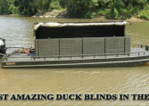 STANDARD HARD TOP FLOATING DUCK BLINDS