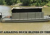 STANDARD HARD TOP FLOATING DUCK BLINDS