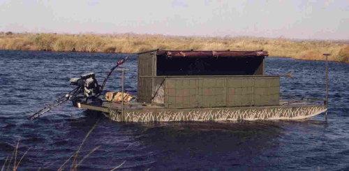 Floating Duck Blinds - GO-DEVIL Manufacturers
