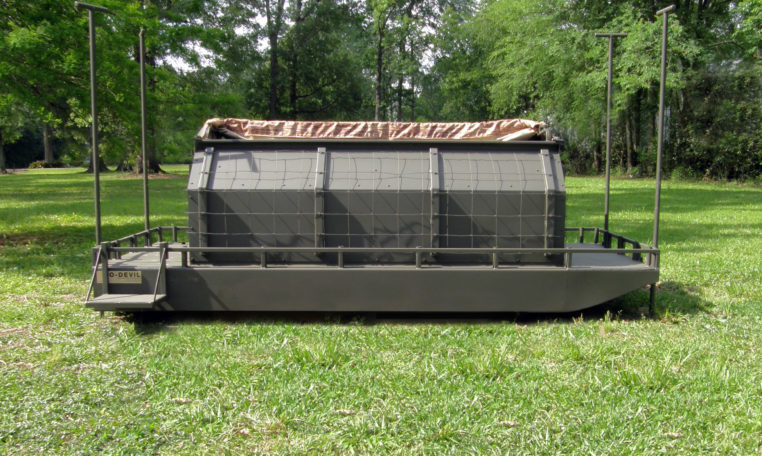 12 X 5 Floating Duck Blind Go Devil Manufacturers