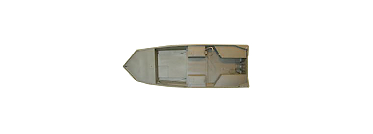 16 X 60 Surface Drive Boat