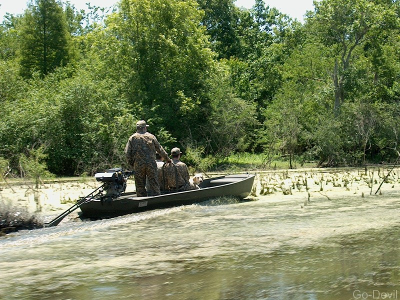 Duck Hunting Boats Go Devil Manufacturers